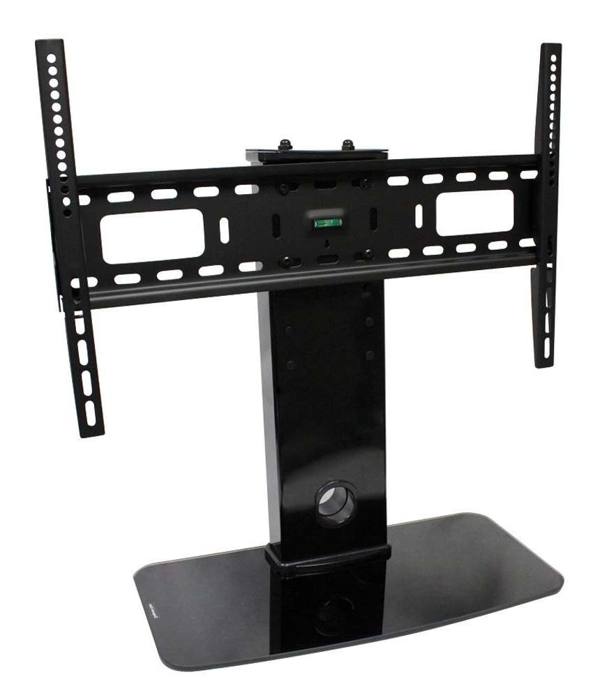 "Universal Tv Stand / Base + Wall Mount For 32"" – 60"" Flat Screen Pertaining To 32 Inch Tv Stands (View 12 of 15)"