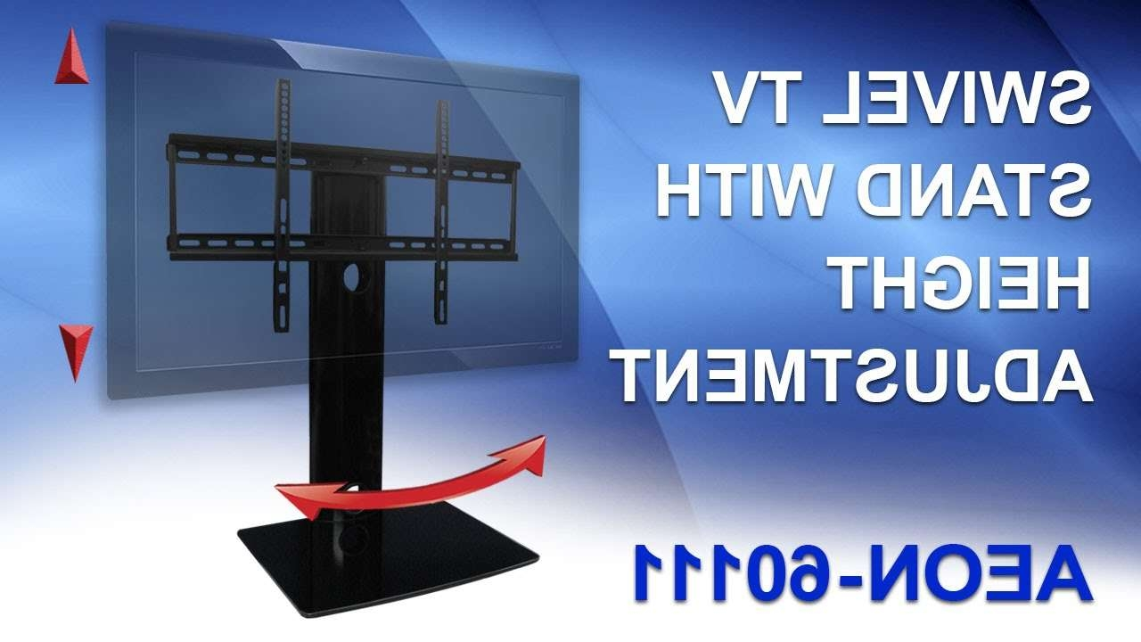 Universal Tv Stand For Samsung, Vizio, Lg, Sony – Youtube In Tv Stands Swivel Mount (View 13 of 15)