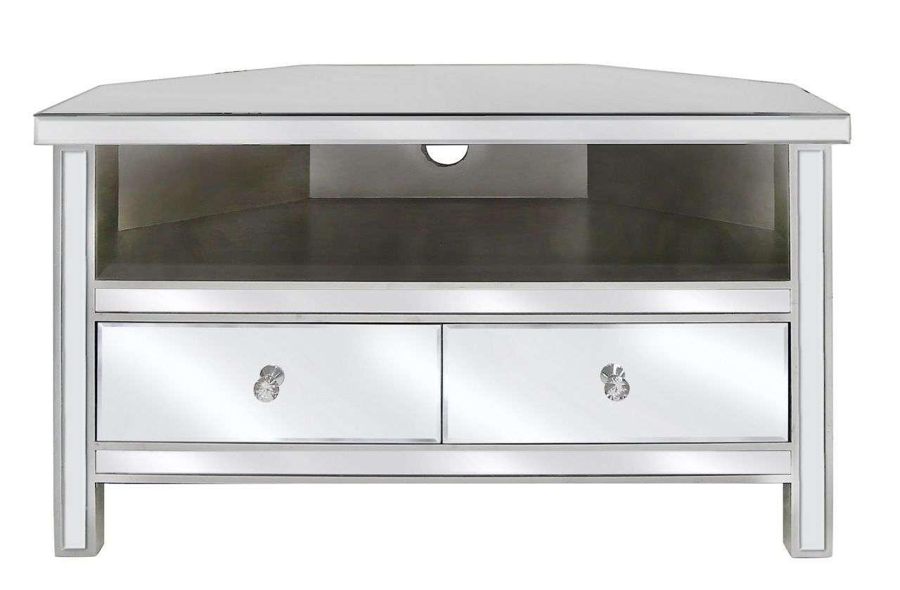 Venetian Mirrored Corner Tv Stand Mirrored Corner Tv Cabinet With With Mirror Tv Cabinets (View 7 of 20)
