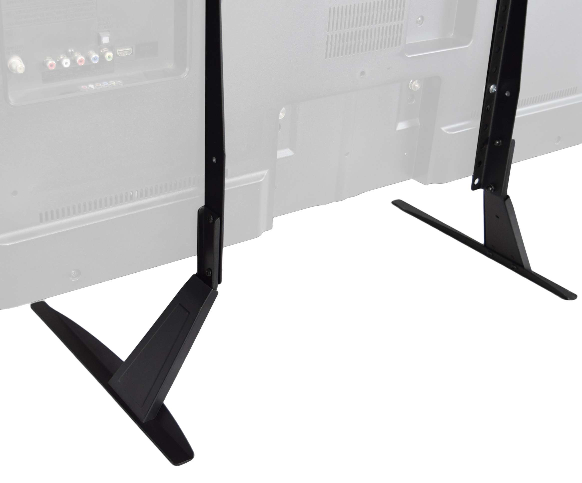 Vivo Universal Lcd Flat Screen Tv Table Top Stand | Base Fits 27 Intended For Universal Flat Screen Tv Stands (View 3 of 20)