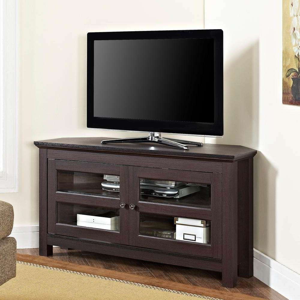 Walker Edison Furniture Company Cordoba Espresso Entertainment Within Cordoba Tv Stands (View 15 of 15)