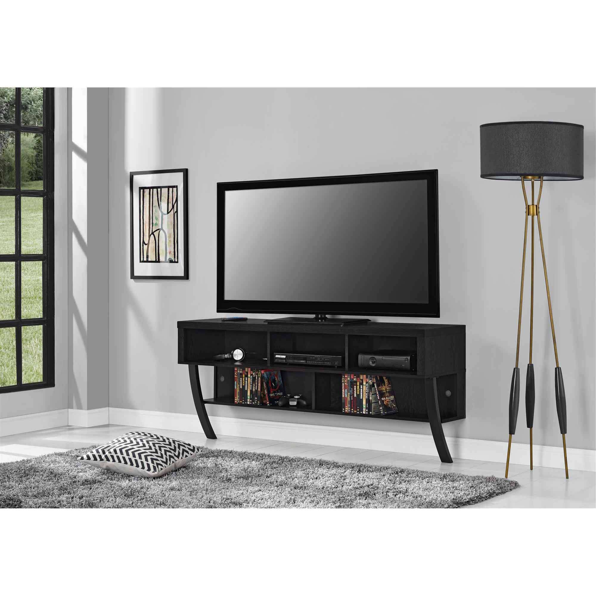 Wall Mount Tv Stands Pertaining To Wall Mounted Tv Stands For Flat Screens (View 10 of 15)