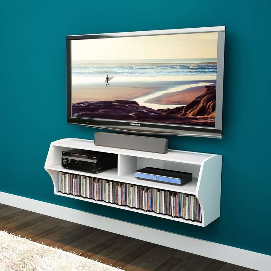 Wall Units: Amazing Wall Mount Entertainment Centers Whalen Tv For Wall Mounted Tv Stands Entertainment Consoles (View 12 of 15)