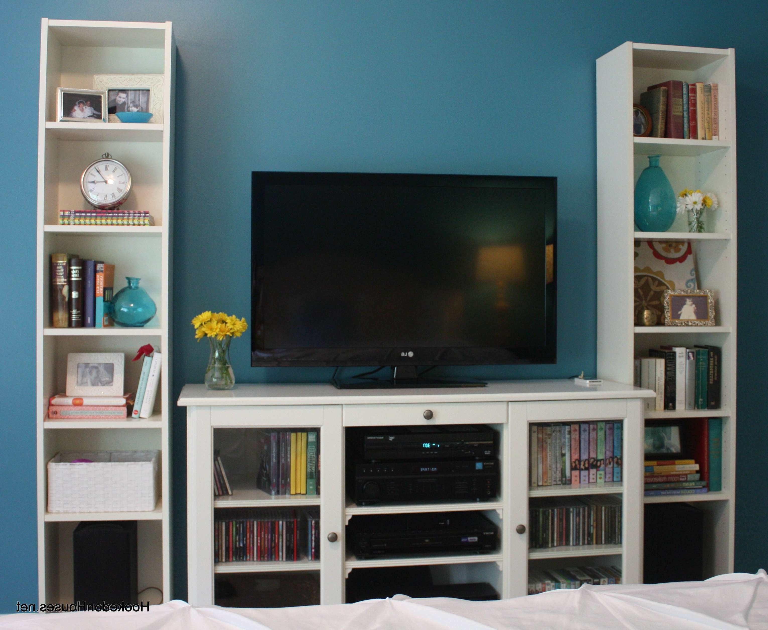 Wall Units: Astounding Tv Cabinet And Bookcase Tv Bookcase Regarding Tv Stands With Matching Bookcases (View 1 of 15)