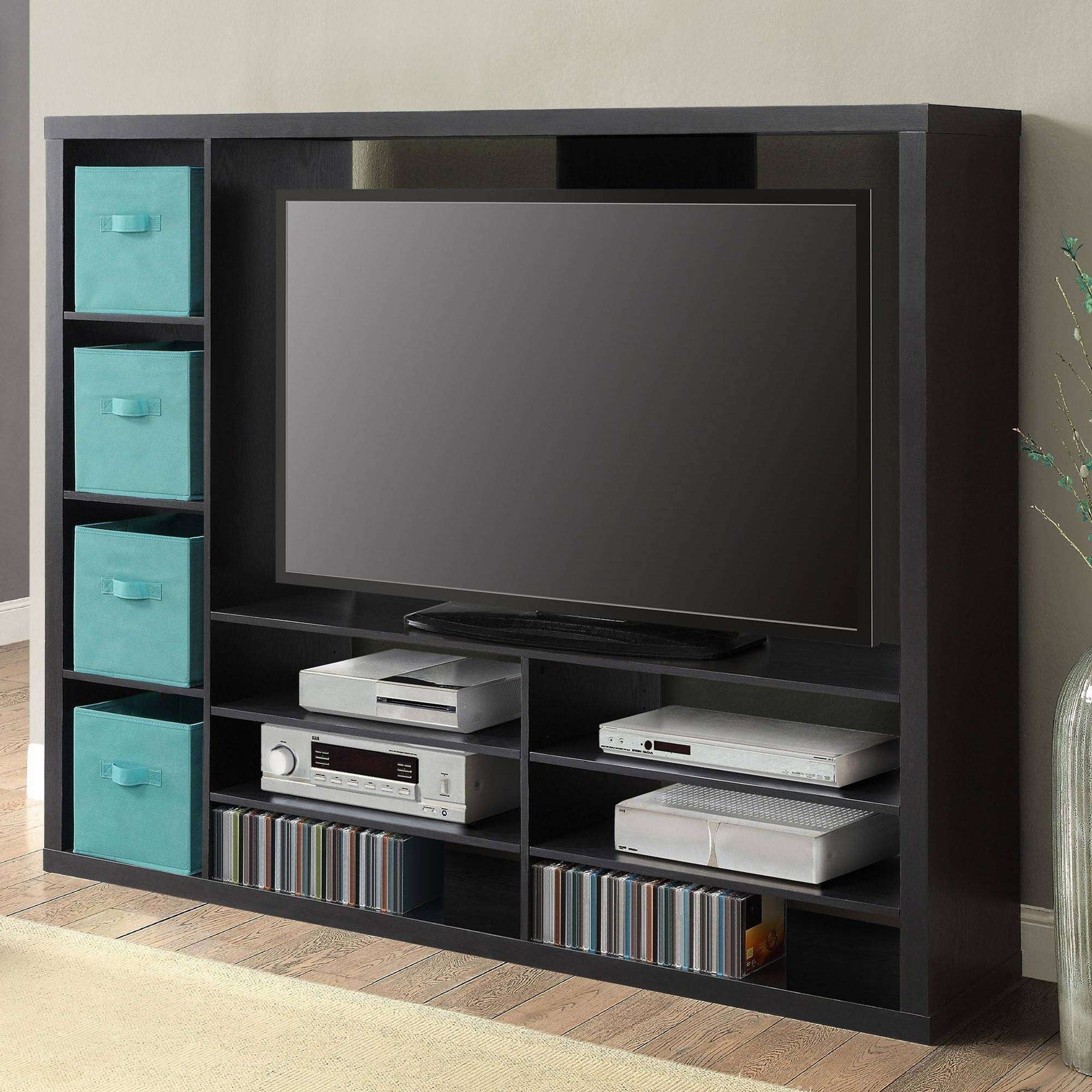 Wall Units: Awesome Entertainment Center Walmart Entertainment With Entertainment Center Tv Stands (View 2 of 15)