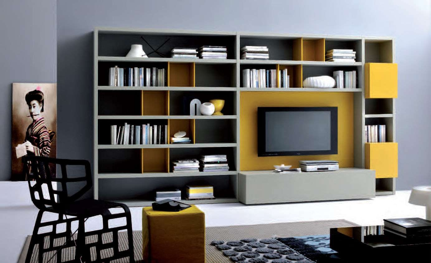 Wall Units: Glamorous Bookcase With Tv Shelf Tv Bookshelf Wall In Tv Stands Bookshelf Combo (View 12 of 15)