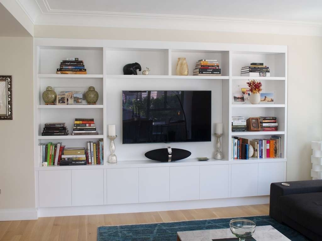 Wall Units: Stunning Tv Bookcase Wall Unit Tv Bookshelf Unit With Regard To Bookshelf Tv Stands Combo (View 8 of 15)