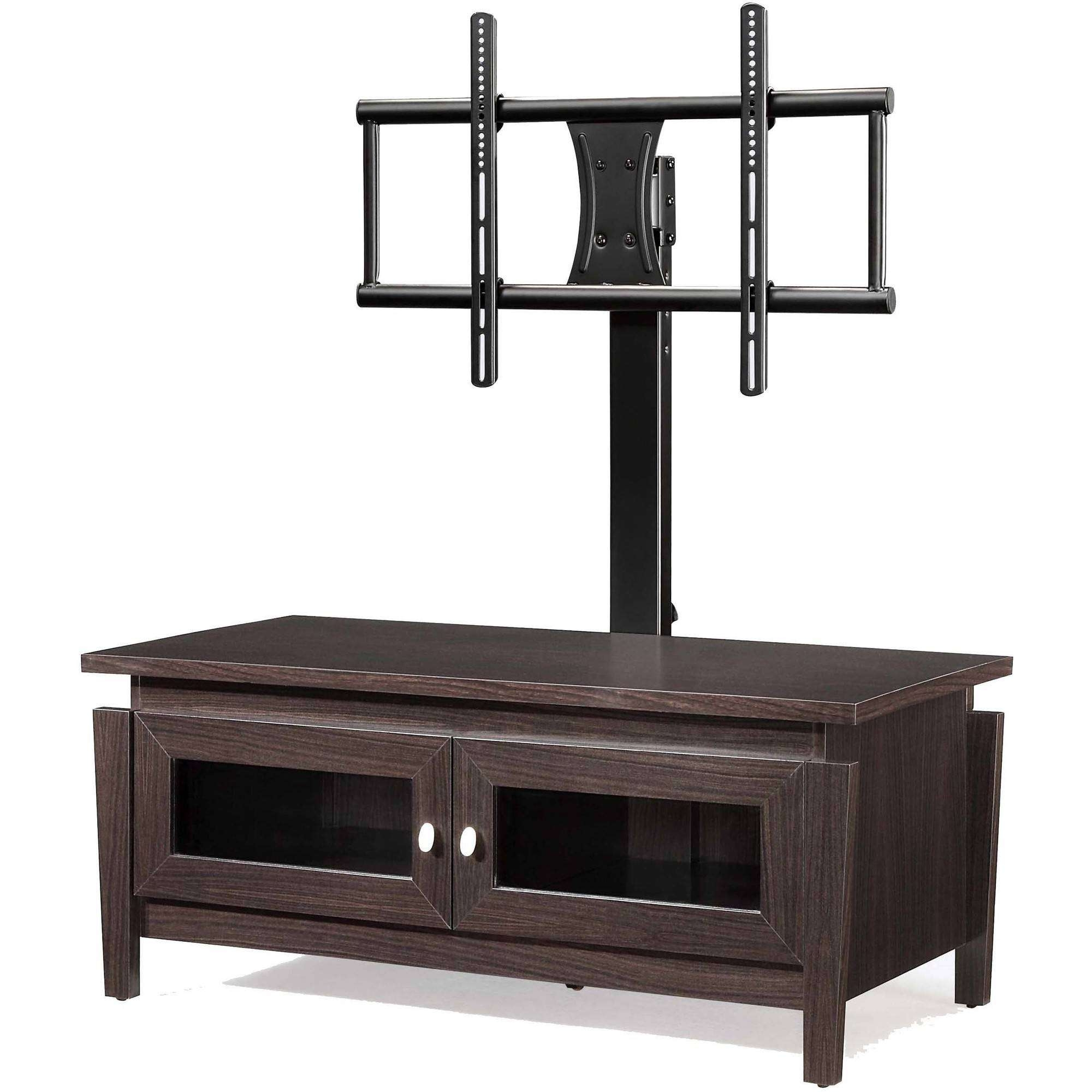 """Whalen Tv Stand With Swinging Mount, For Tvs Up To 50"""" – Walmart With Swivel Tv Stands With Mount (View 13 of 15)"""