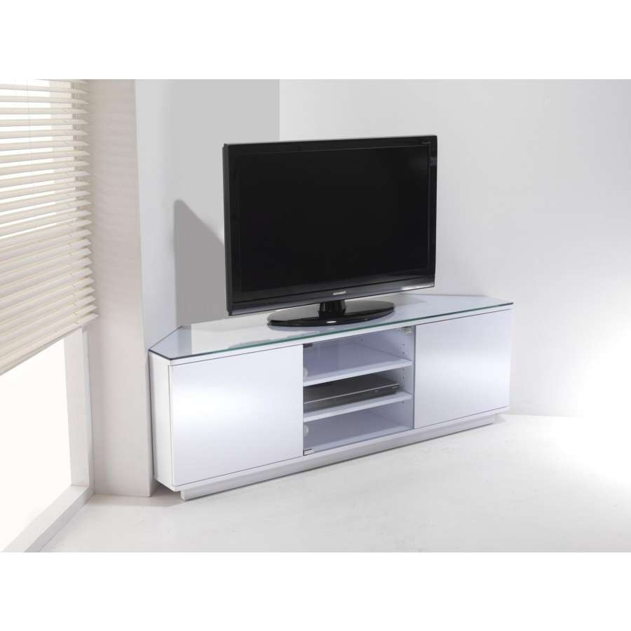 White Gloss Corner Tv Stand #16381 Throughout White Gloss Corner Tv Stands (View 15 of 15)