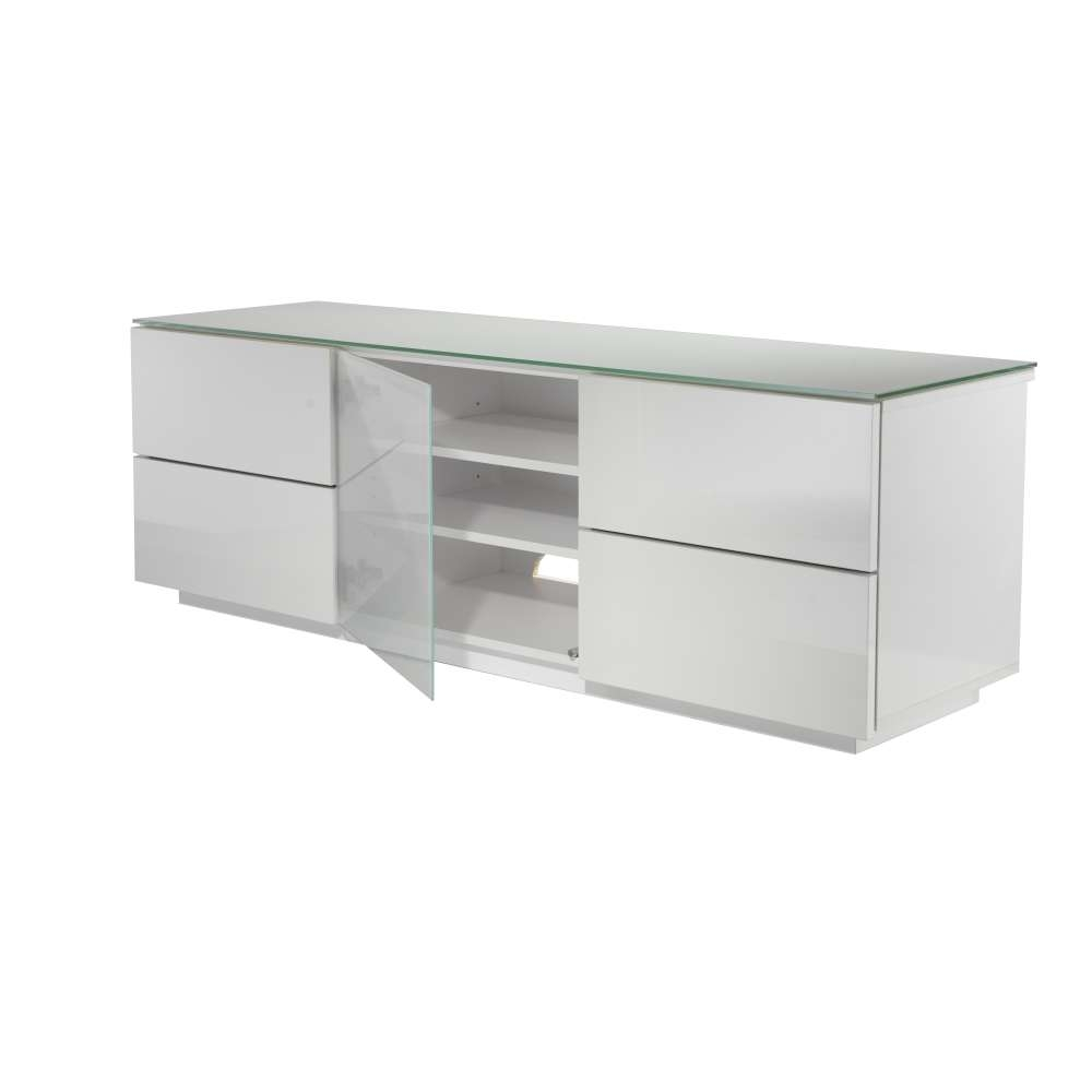 White Tv Cabinet With Glass Doors Choice Image – Doors Design Ideas Pertaining To Glass Tv Cabinets With Doors (View 17 of 20)