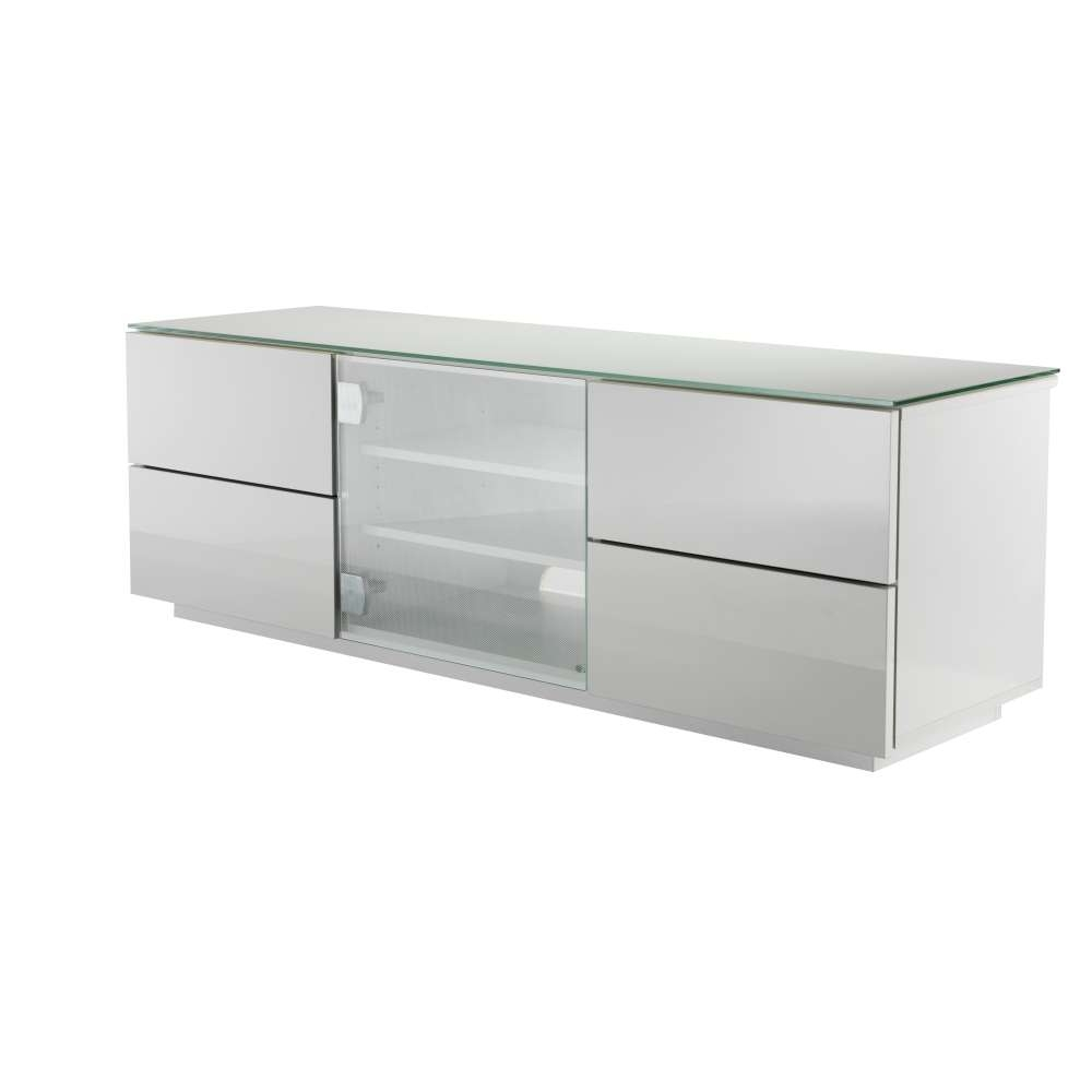 White Tv Cabinet With Glass Doors Choice Image – Doors Design Ideas Throughout Glass Tv Cabinets With Doors (View 20 of 20)