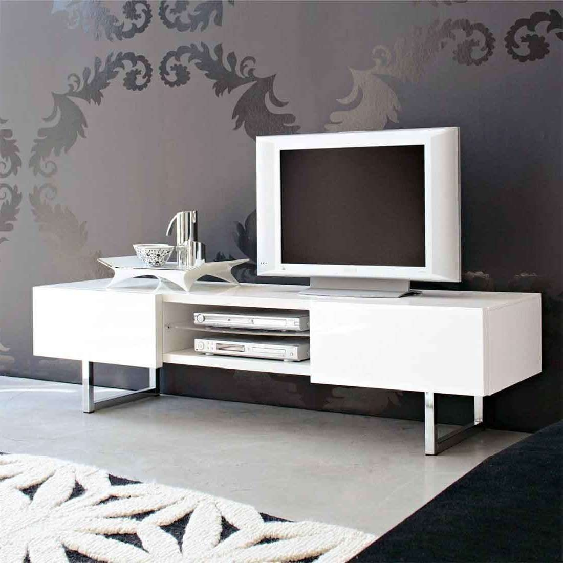 White Tv Stand Ideas Home Design Dac2a9cor Pinterest Furnitures With Regard To Large White Tv Stands (View 7 of 15)