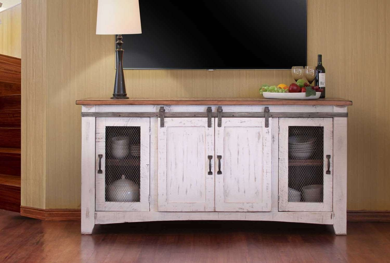 White Tv Stand Regarding White Tv Stands (View 3 of 15)