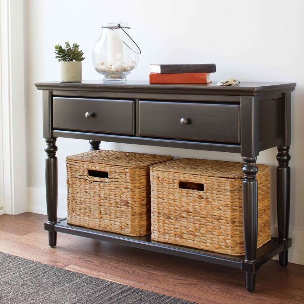 Photos Of Tv Stands With Baskets Showing 2 Of 15 Photos