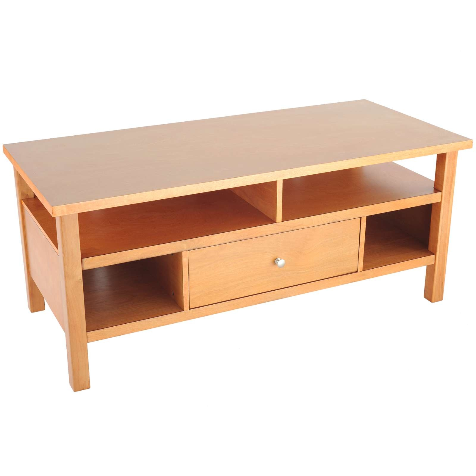 Wholesale / Bulk Dropshipper Flat Screen/tube Tv Stand With Drawer For Maple Wood Tv Stands (View 2 of 15)