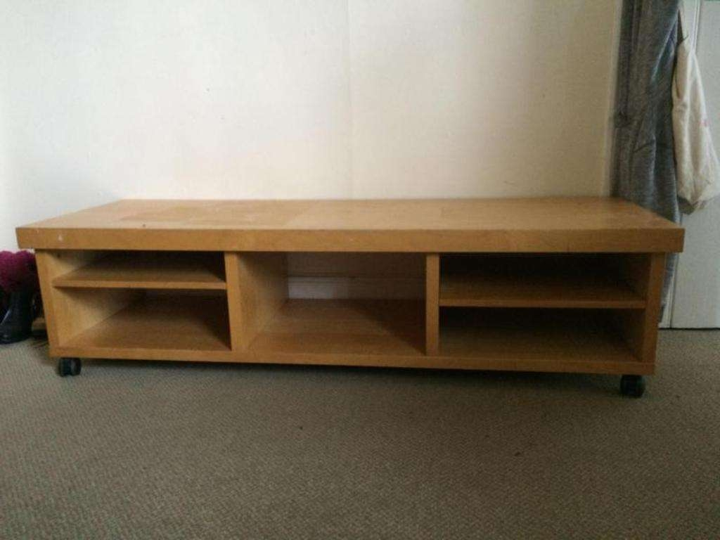 Wood Tv Stand With Wheels — Rs Floral Design : Tv Stand With For Wooden Tv Stands With Wheels (View 15 of 15)