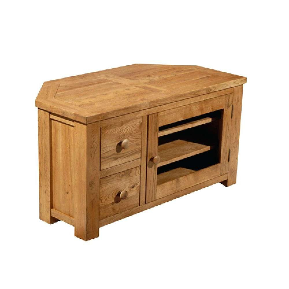 Wooden Corner Tv Cabinets With Stand Small Stands For Flat Screens Intended For Wood Corner Tv Cabinets (View 13 of 20)