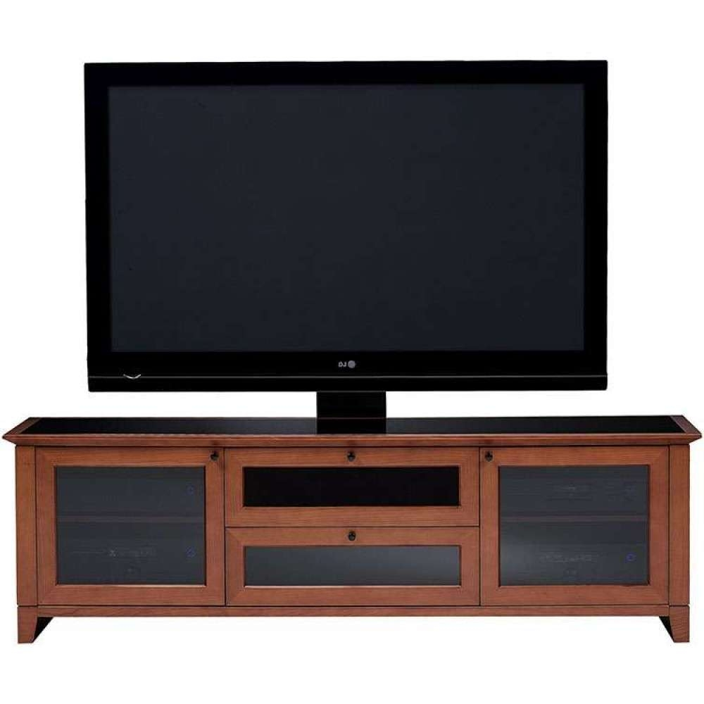 Wooden Rustic Light Media Corner Solid Platform Unit Intended For Light Cherry Tv Stands (View 12 of 15)