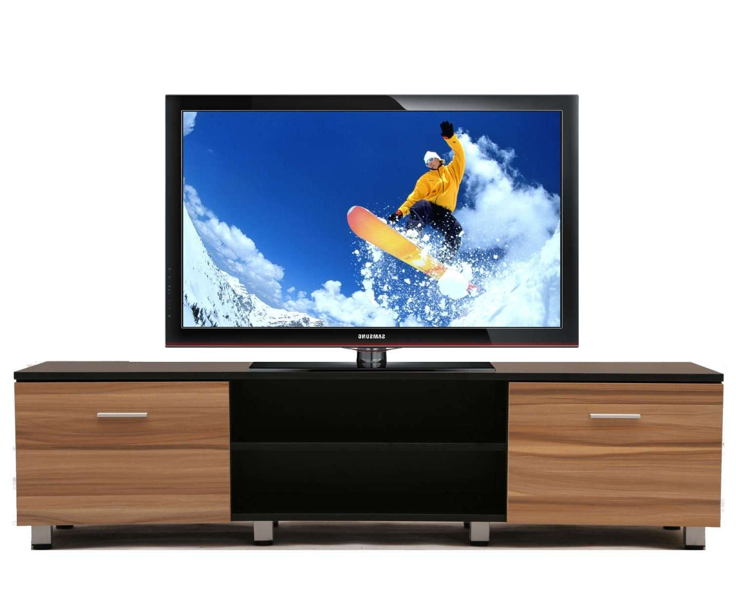 Wooden Samba Tv Unit Stand Cabinet | Furniturebox Inside Wooden Tv Cabinets (View 6 of 20)