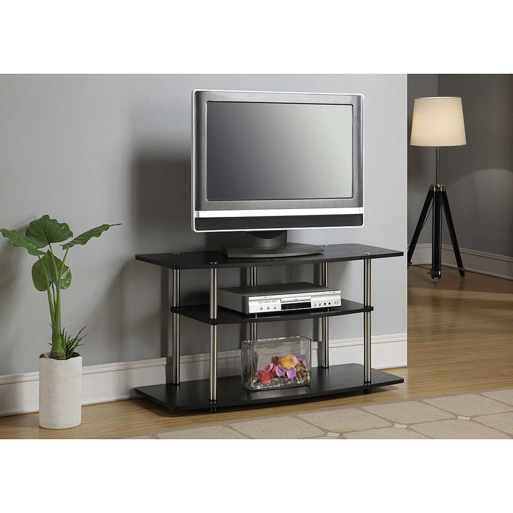 Z Line Designs Soliss 3 In 1 Tv Stand With Mount, For Tvs Up To 60 Within 32 Inch Tv Stands (View 6 of 15)