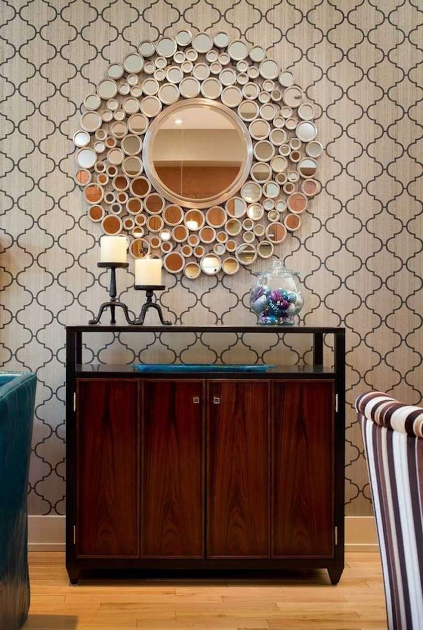 10 Perfect Ways To Combine Sideboards With Wall Mirrors Intended For Mirror Over Sideboards (View 13 of 20)