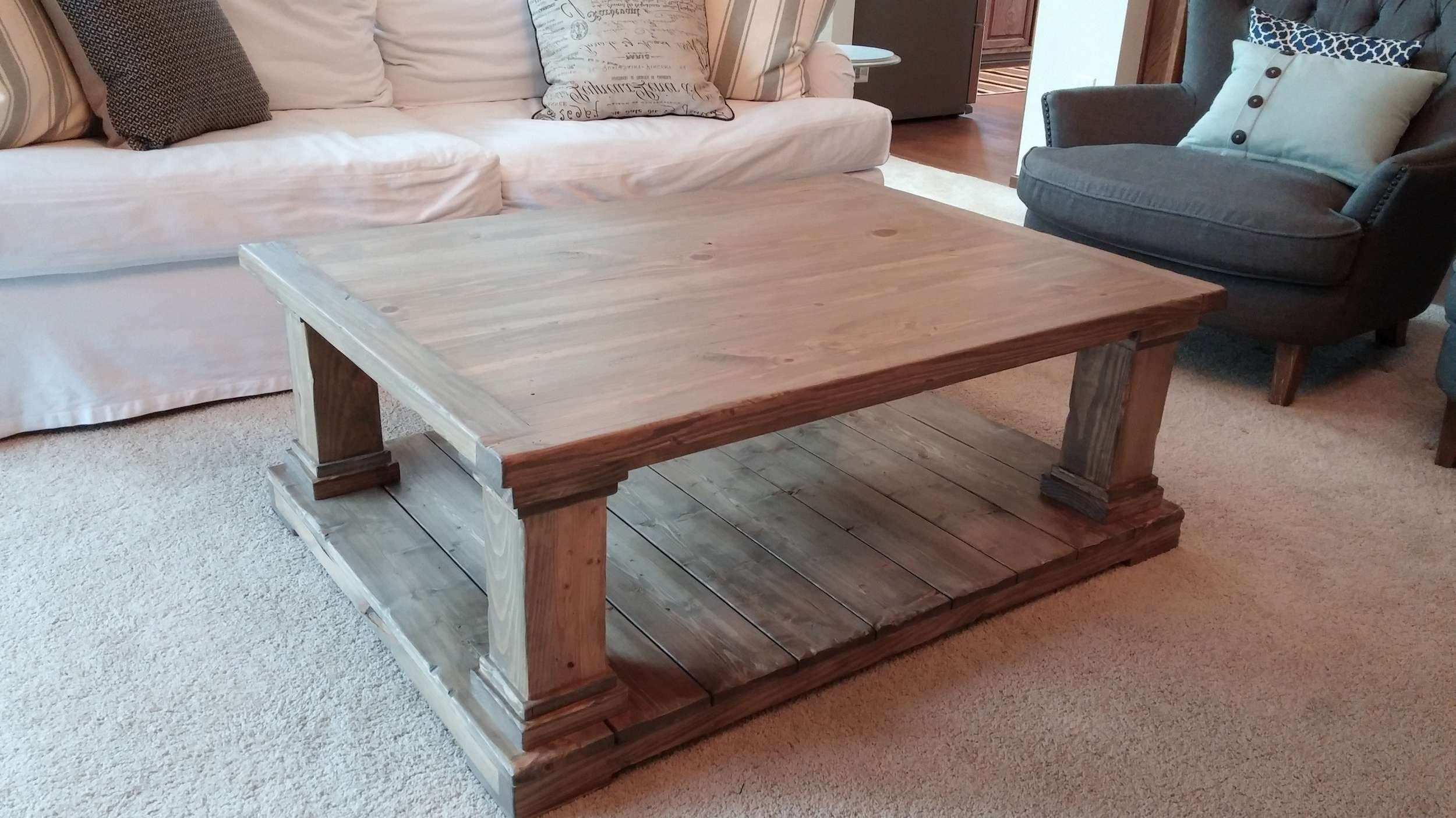 10 Various Ways To Do Farmhouse Coffee Inside Trendy Farmhouse Coffee Tables (Gallery 10 of 20)