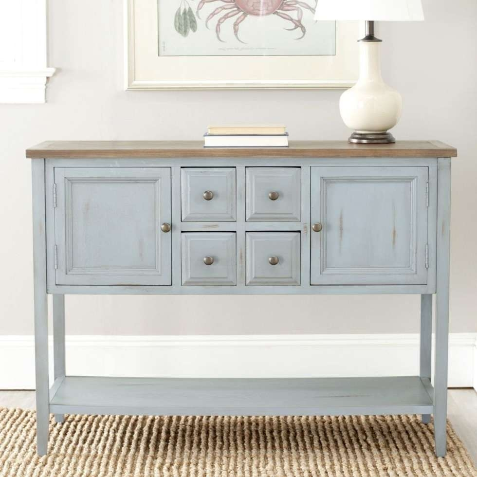 11 Best Sideboards And Buffets In 2018 – Reviews Of Sideboards Regarding Blue Sideboards (View 1 of 20)