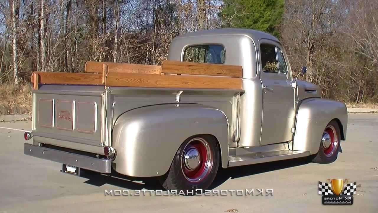 134902 / 1949 Ford F1 Pickup Truck – Youtube In Pickup Truck Sideboards (Gallery 17 of 21)