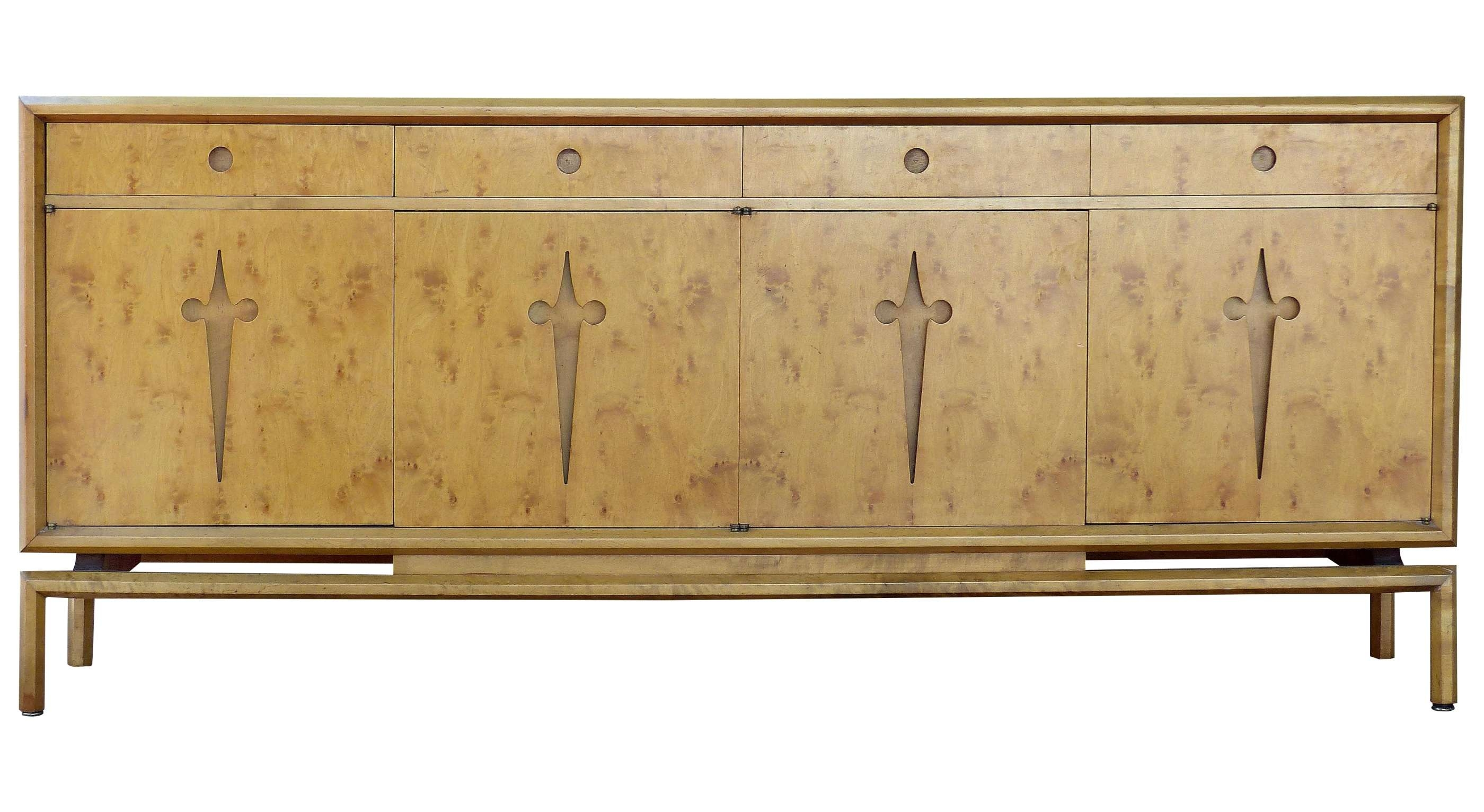 1950S Swedish Edmond J. Spence Maple Sideboard | Modernism With Regard To Maple Sideboards (Gallery 18 of 20)
