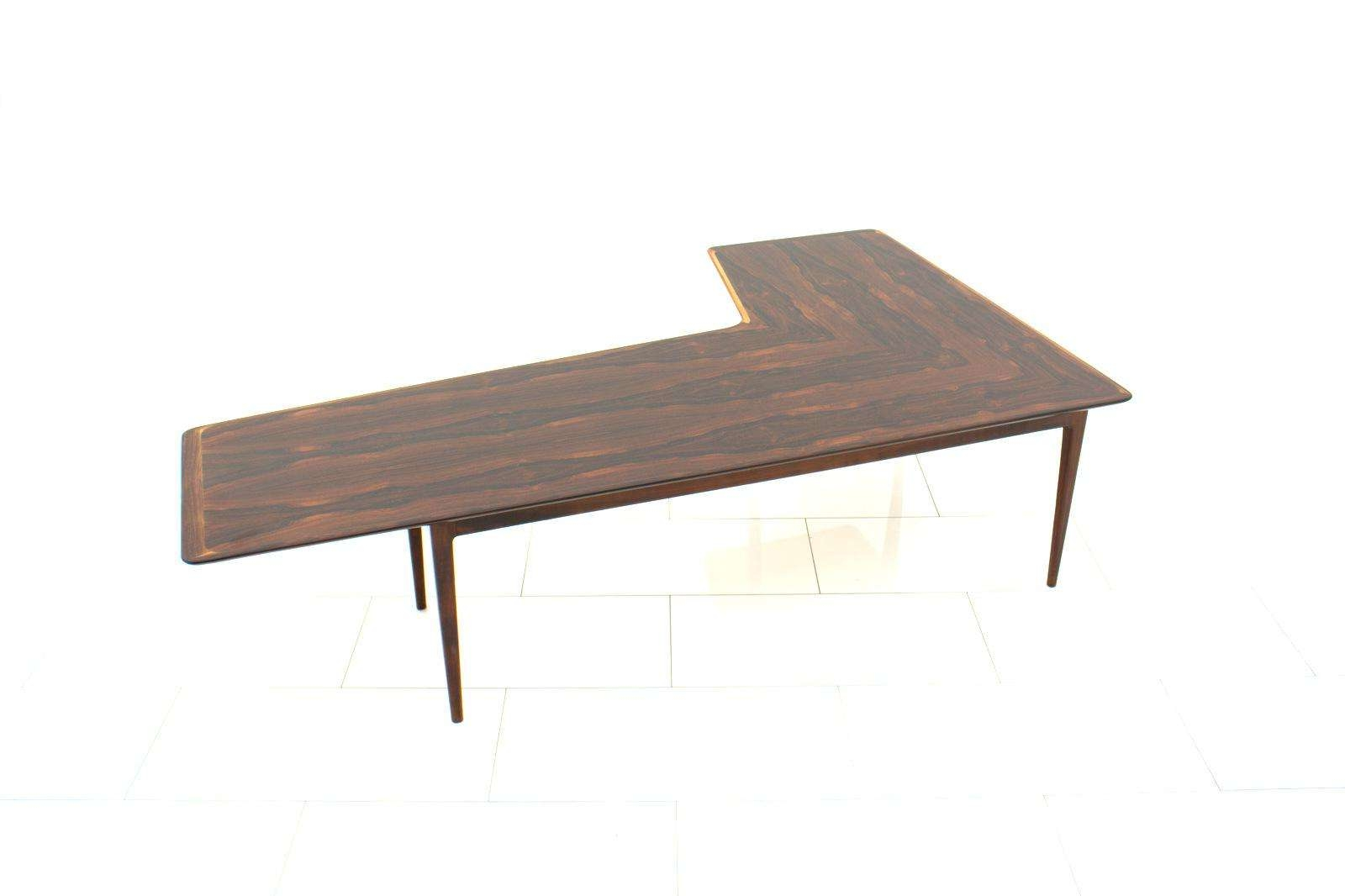 1960 Style L Shaped Coffee Table (View 7 of 20)