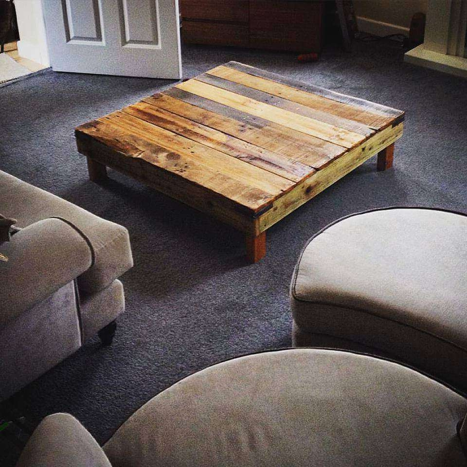 20 Diy Pallet Coffee Table Ideas – Page 5 Of 5 – 101 Pallet Ideas With Regard To Widely Used Short Legs Coffee Tables (View 6 of 20)