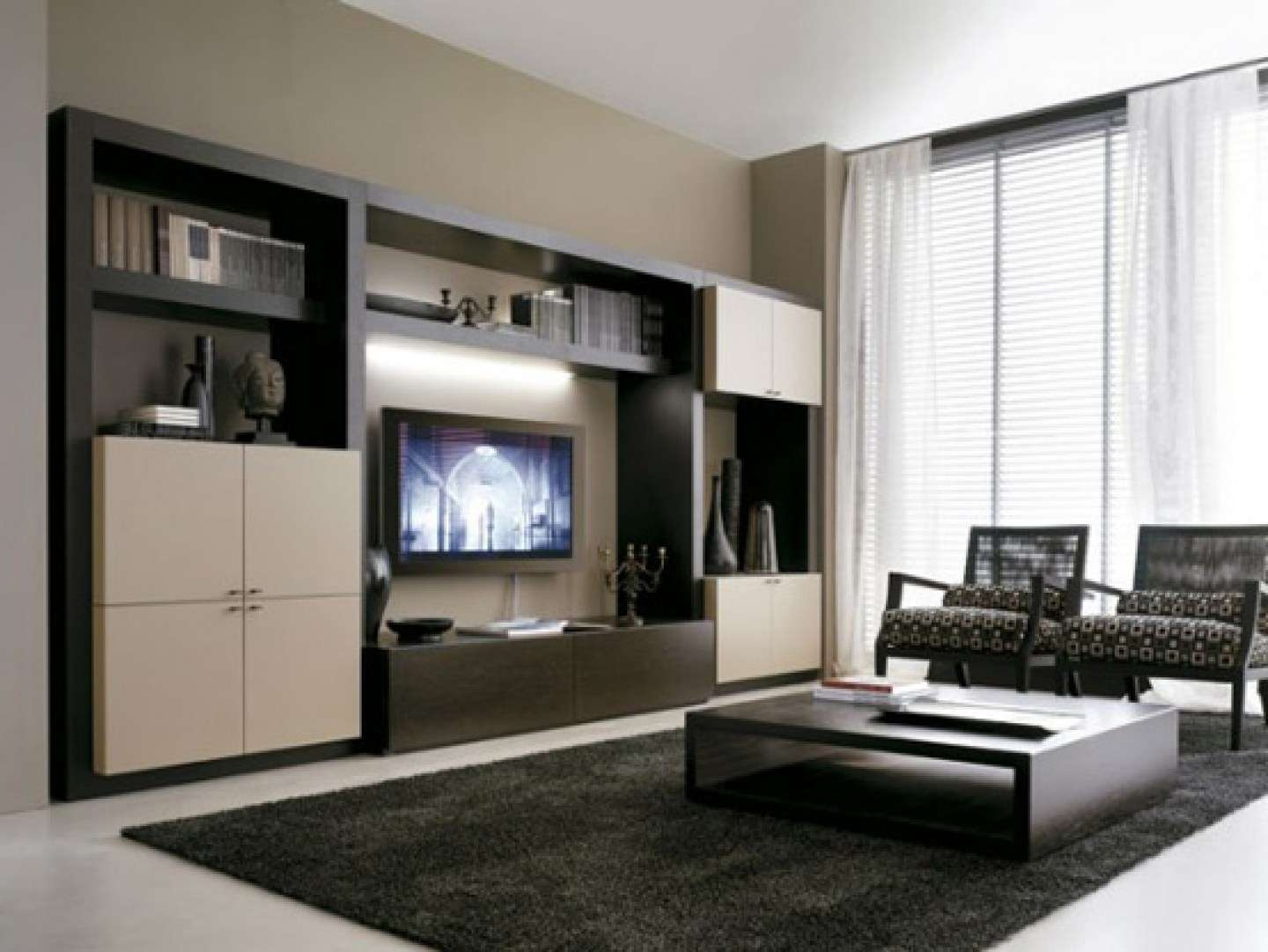 20 Modern Tv Unit Design Ideas For Bedroom Living Room With Pertaining To Living  Room Tv