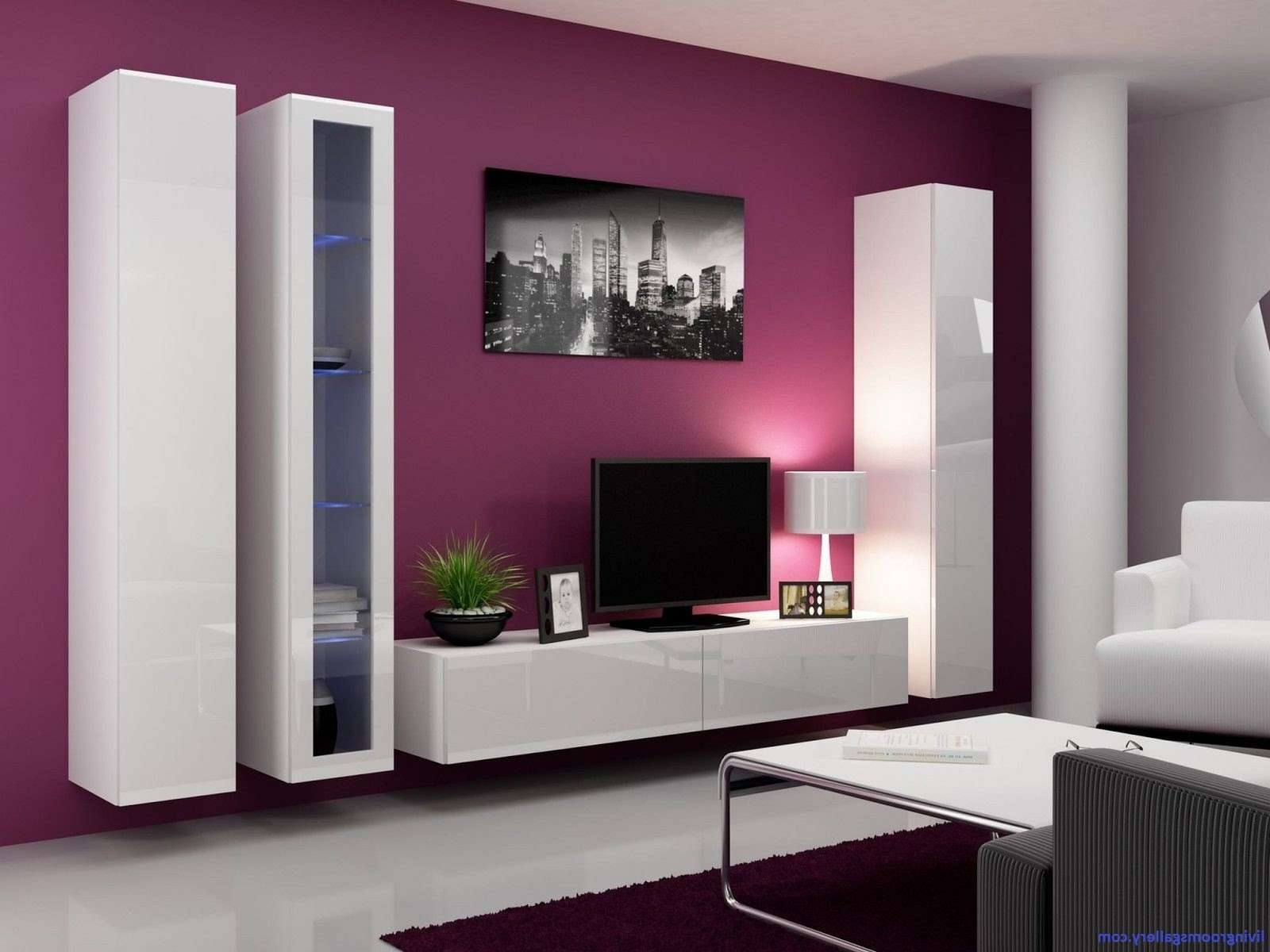 20 Modern Wall Cabinets For Living Room, Wall Mounted Tv Cabinet Regarding Modern Design Tv Cabinets (View 19 of 20)