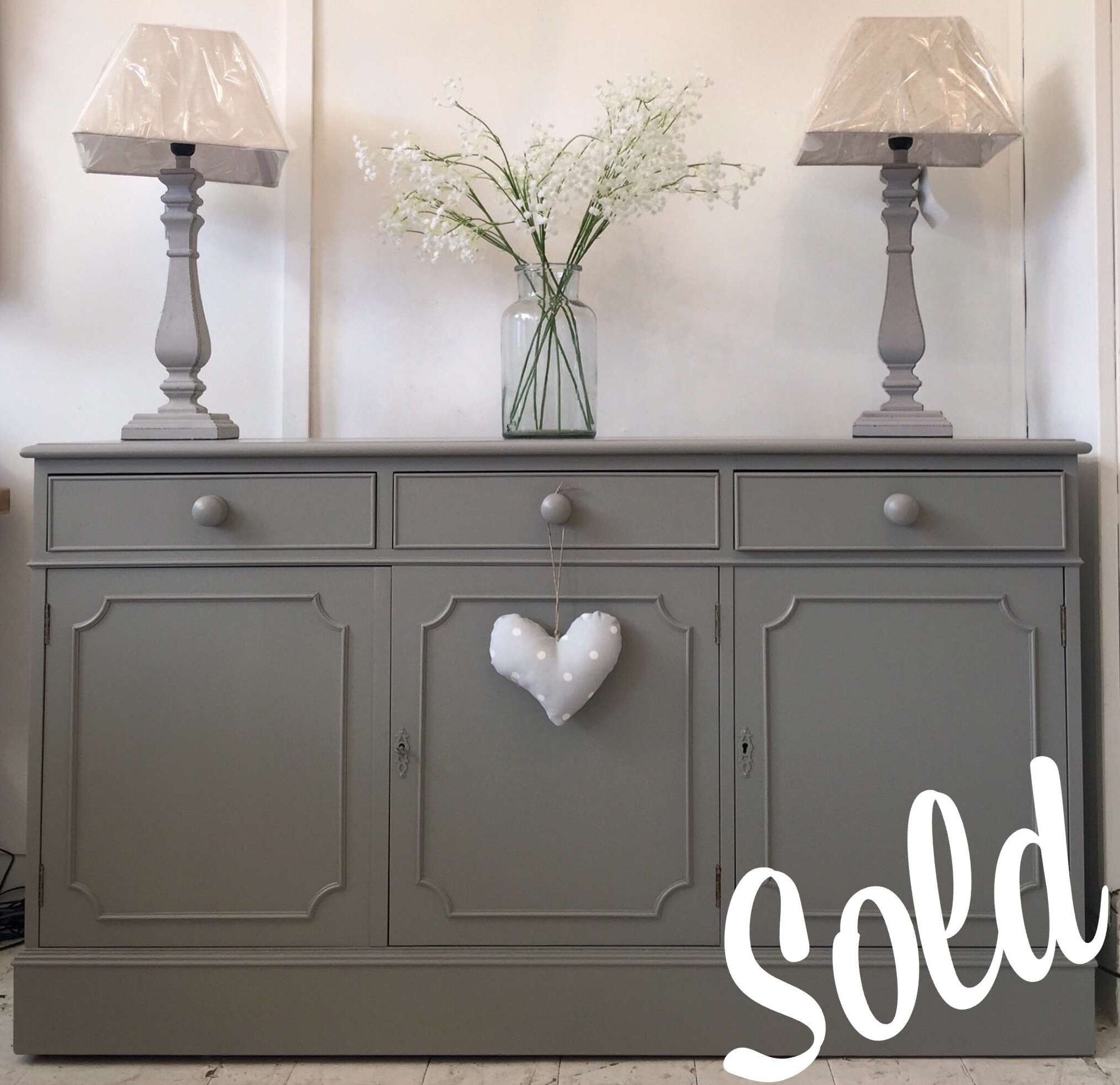 20 Photos Grey Sideboards Intended For Dark Sideboards (View 7 of 20)