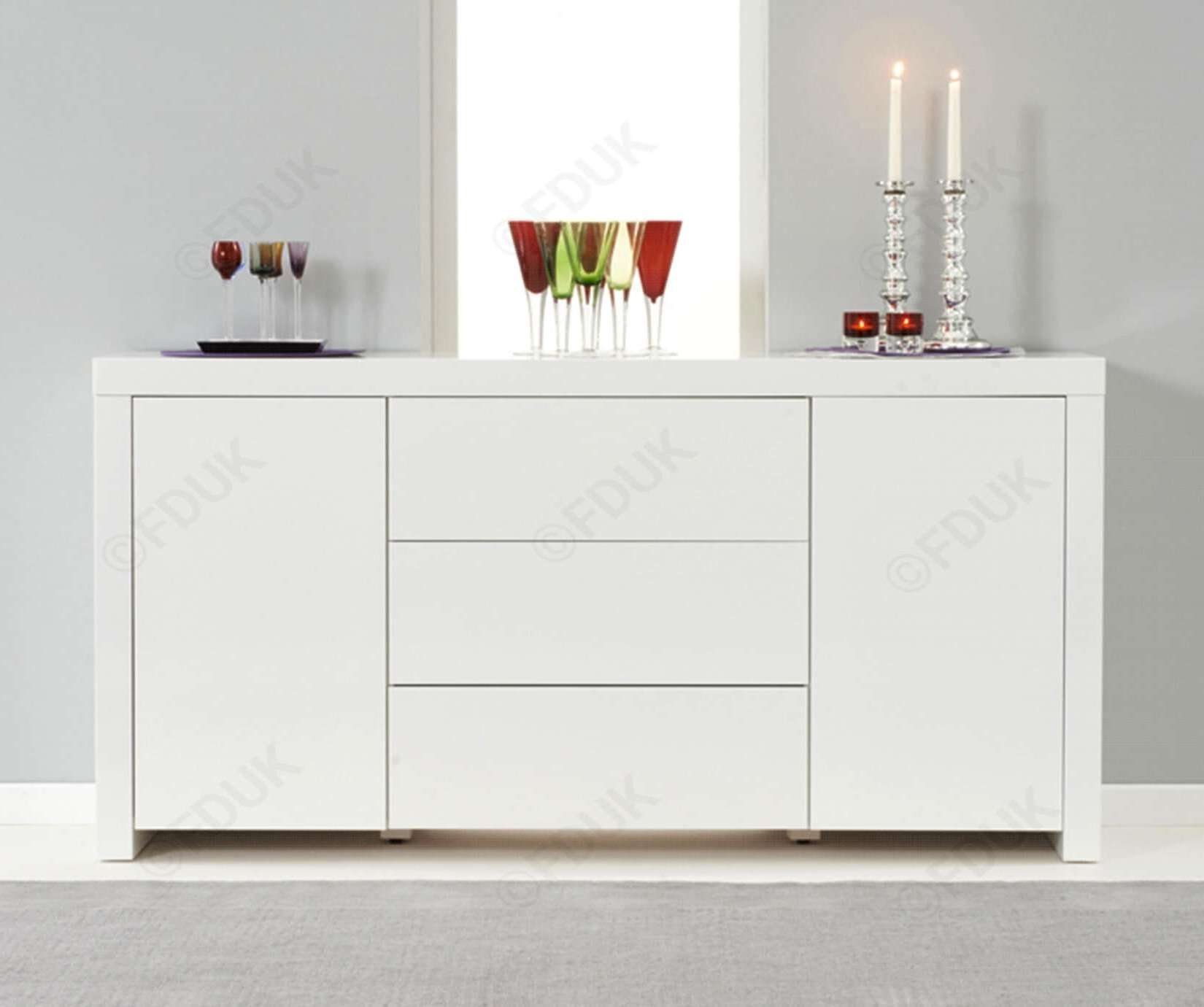 20 Photos High Gloss Sideboards Regarding High White Gloss Sideboards (View 6 of 20)