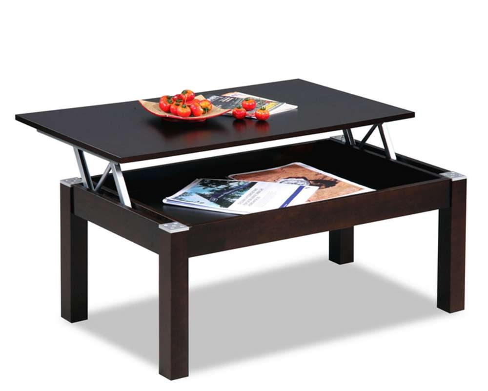 2016 Pace Saving Furniture Mechanism Steel Metal Folding Table Pertaining To Popular Desk Coffee Tables (View 7 of 20)