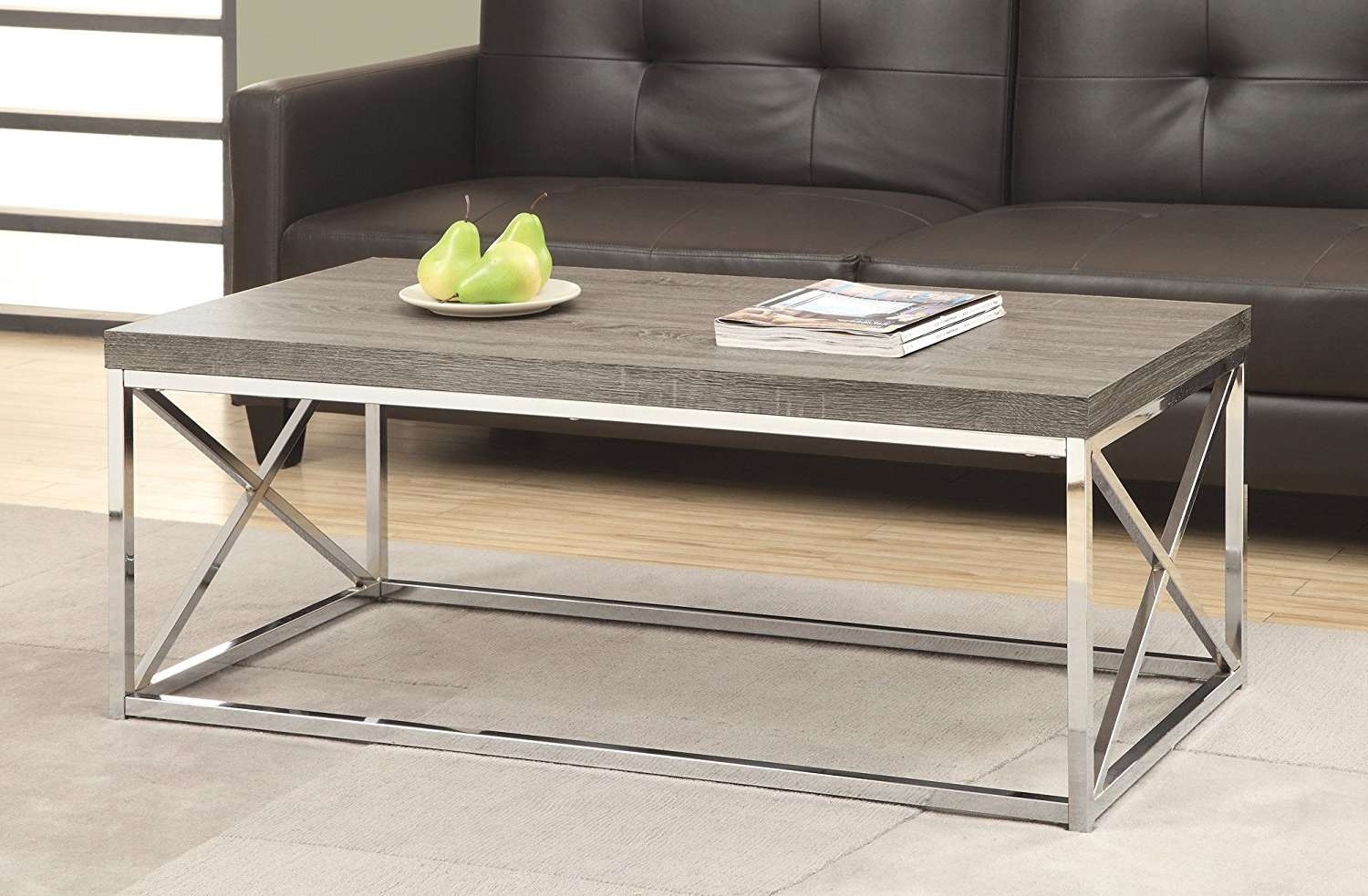 2017 Chrome Coffee Tables With Regard To Types Of Chrome Coffee Table (Gallery 13 of 20)