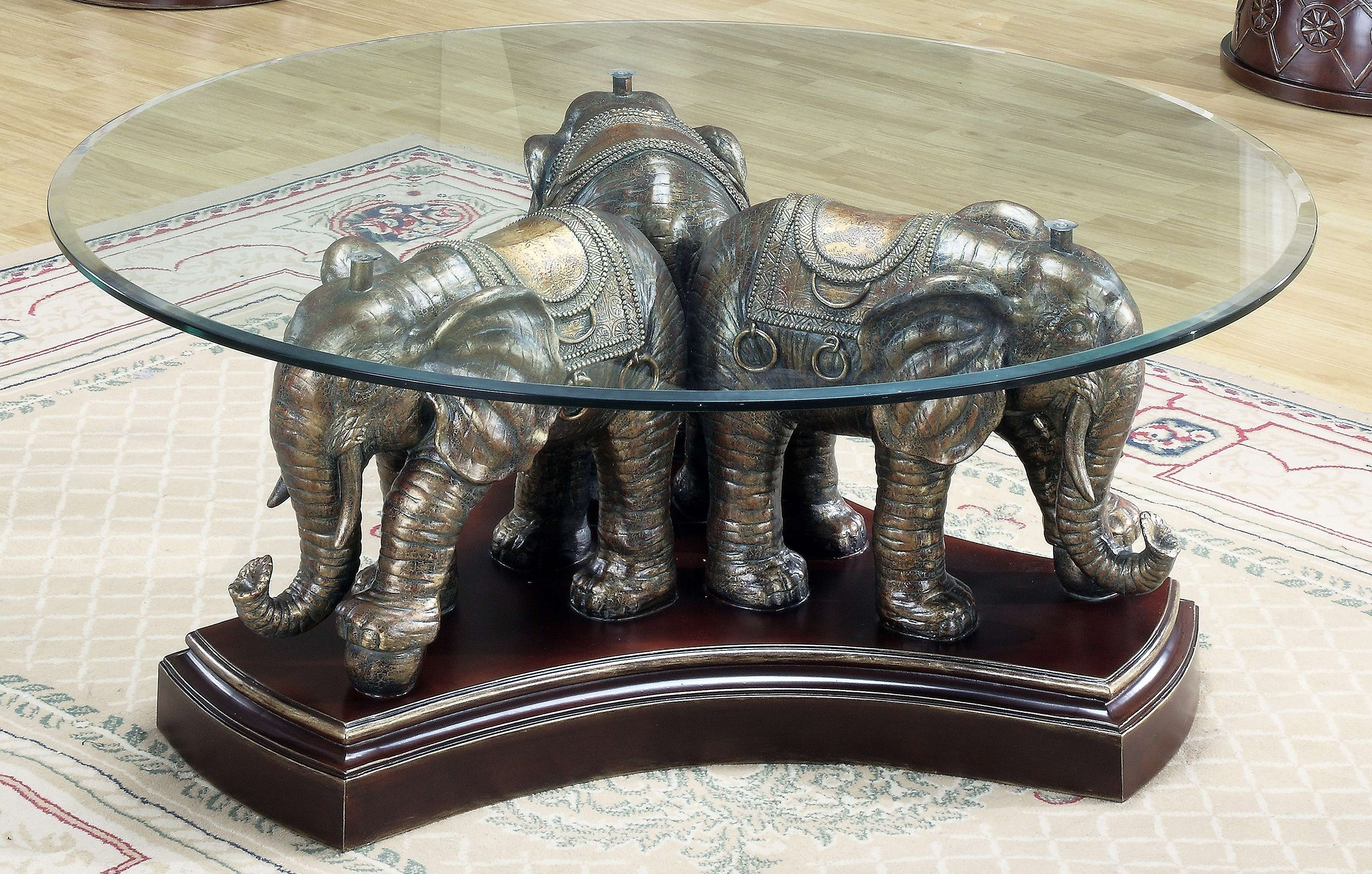2017 Elephant Coffee Tables With Glass Top Regarding Elephant Coffee Table Glass Top – Coffeetable (View 2 of 20)