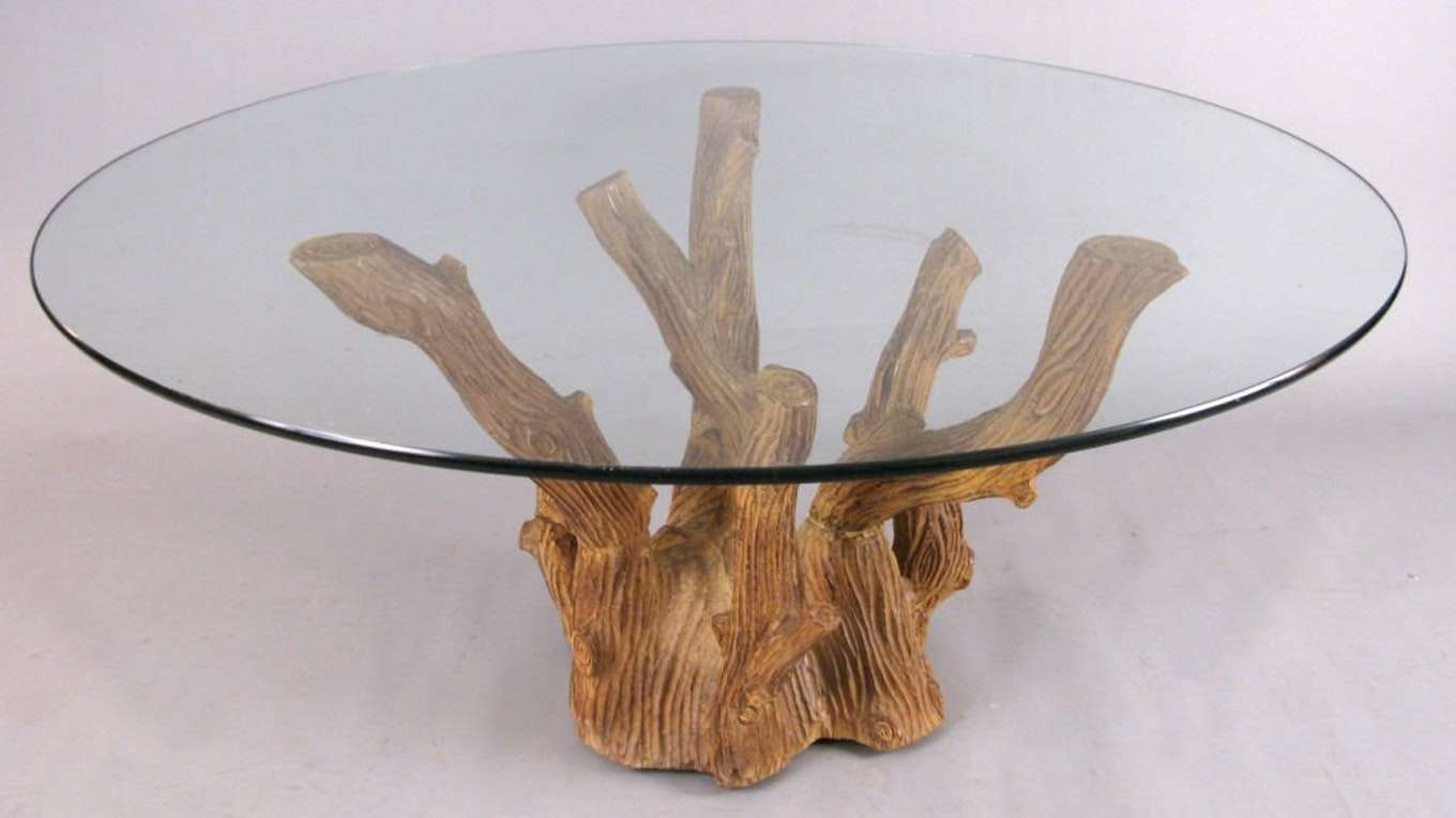 2017 Funky Coffee Tables With Regard To Tree Branch Coffee Table – Militariart (View 1 of 20)