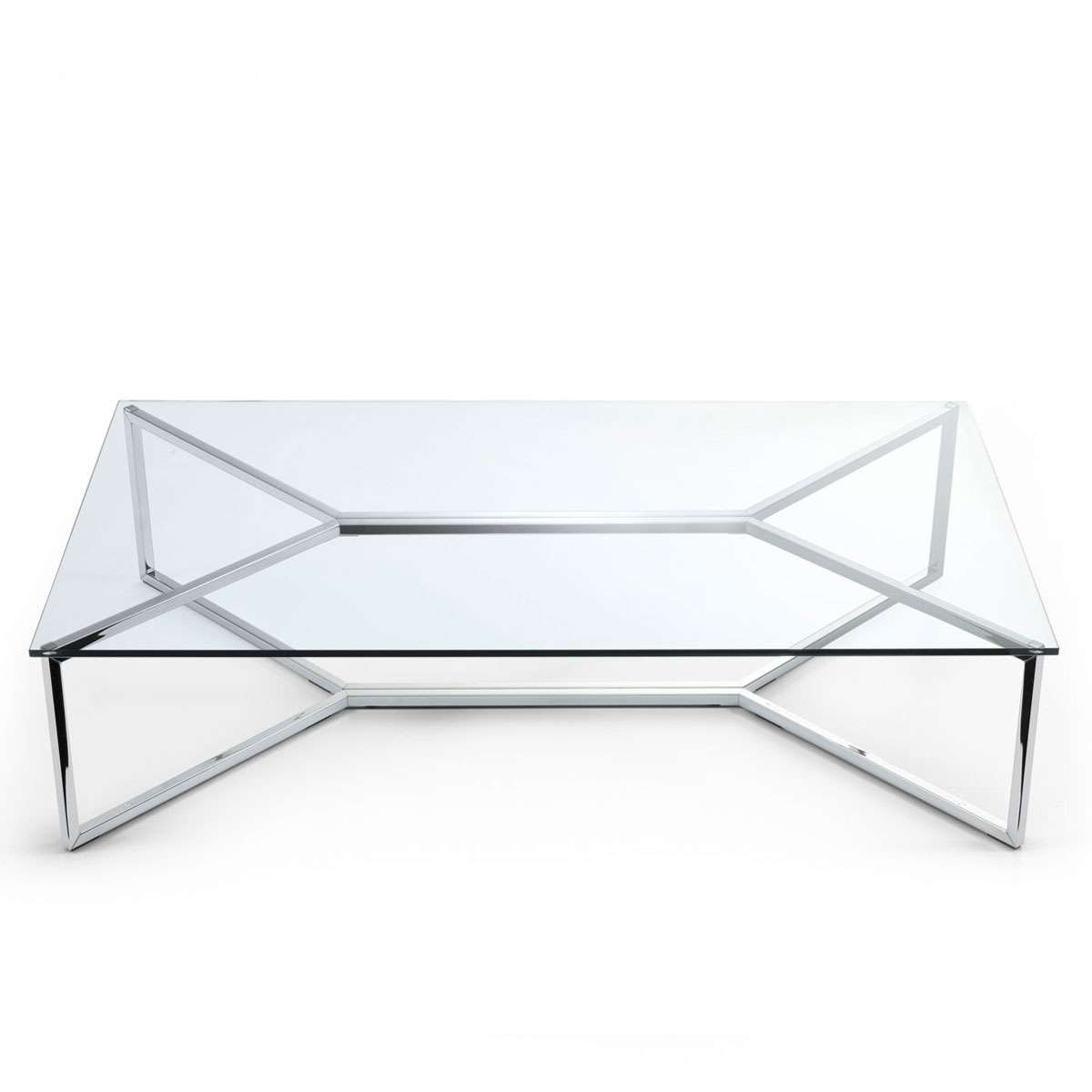 2017 Glass Steel Coffee Tables Intended For Irresistible Wood Voigt Home Collection Then Polished Glass Athlos (View 3 of 20)