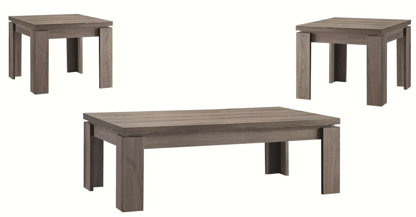 2017 Grey Coffee Table Sets Inside Interior (View 6 of 20)