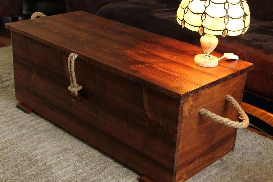 2017 Large Coffee Table With Storage Pertaining To Coffee Table : Cheap Large Coffee Table Table Made Out Of Crates (View 1 of 20)