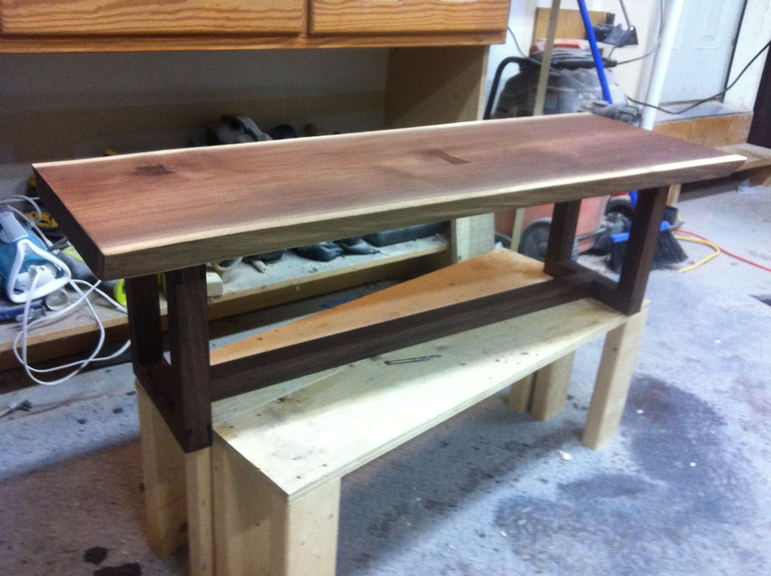 2017 Live Edge Coffee Tables Regarding Live Edge Coffee Table, Black Walnut : Woodworking (View 1 of 20)