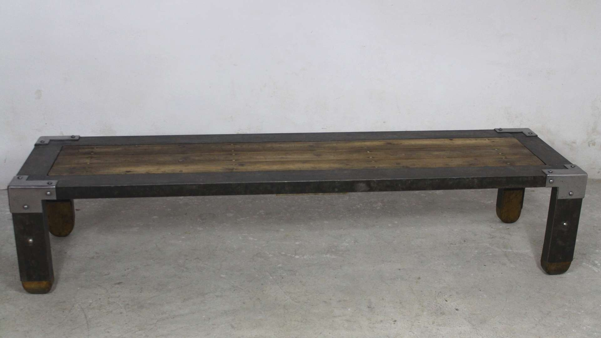 2017 Long Coffee Tables Throughout Long Industrial Coffee Table, 1950S For Sale At Pamono (View 1 of 20)