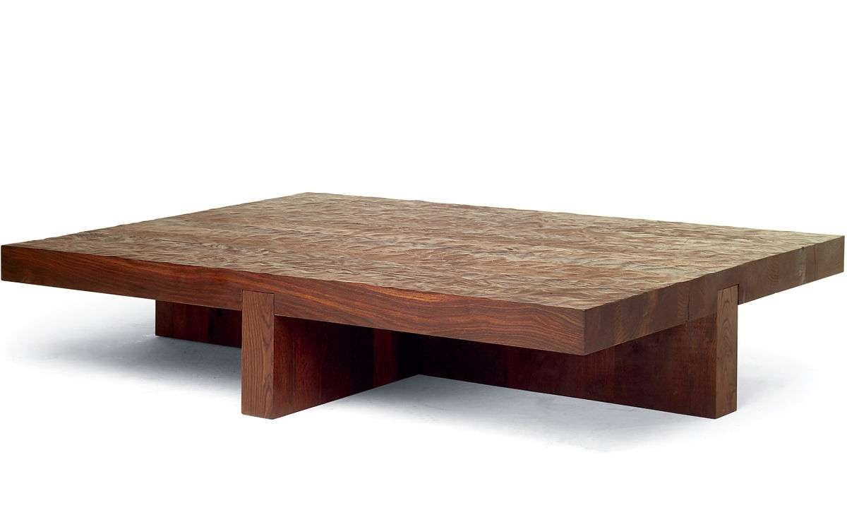 2017 Low Rectangular Coffee Tables In Lowtide Coffee Table – Hivemodern (View 1 of 20)