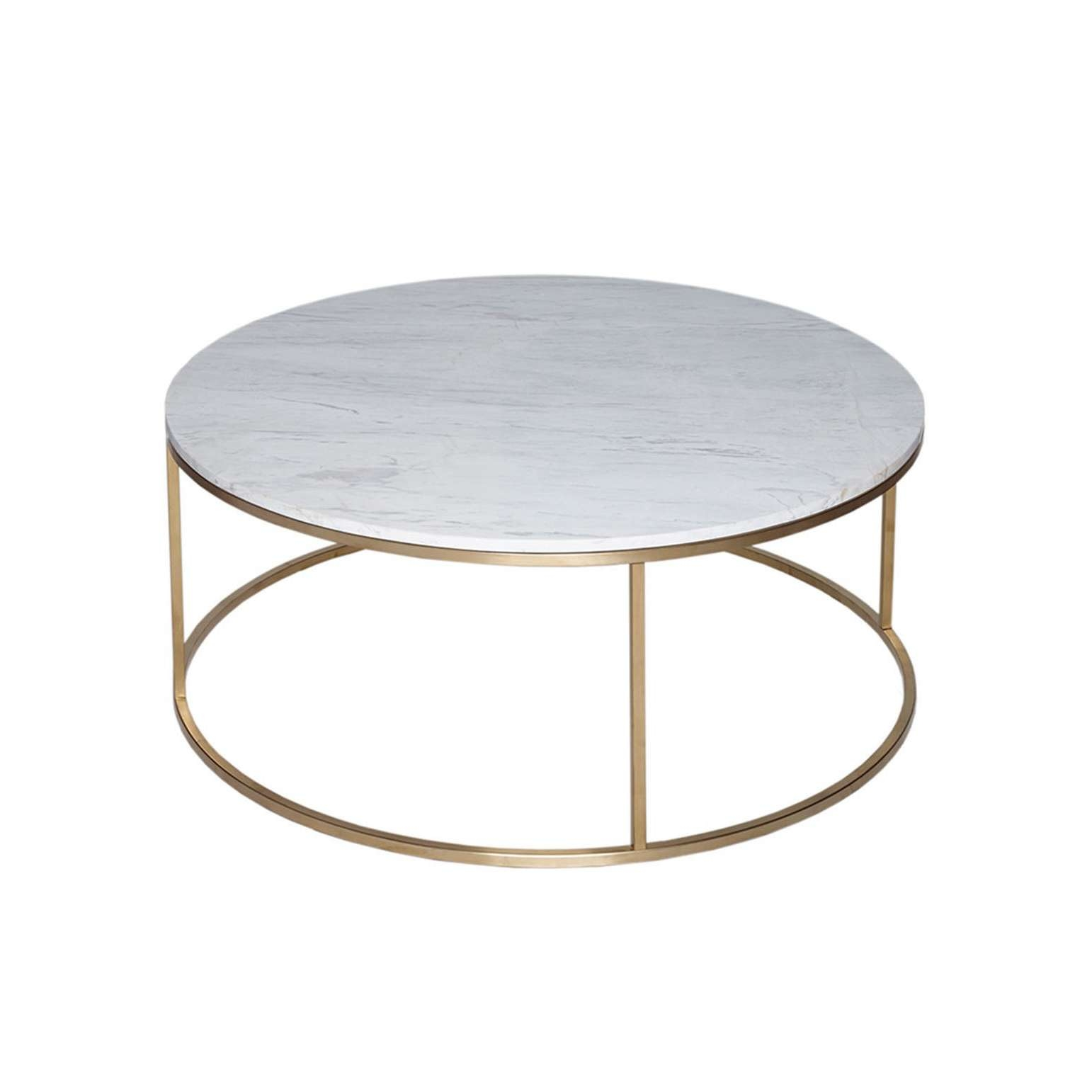2017 Marble Round Coffee Tables Pertaining To Coffee Table : Wonderful White Round Coffee Table Glass Top Coffee (View 2 of 20)