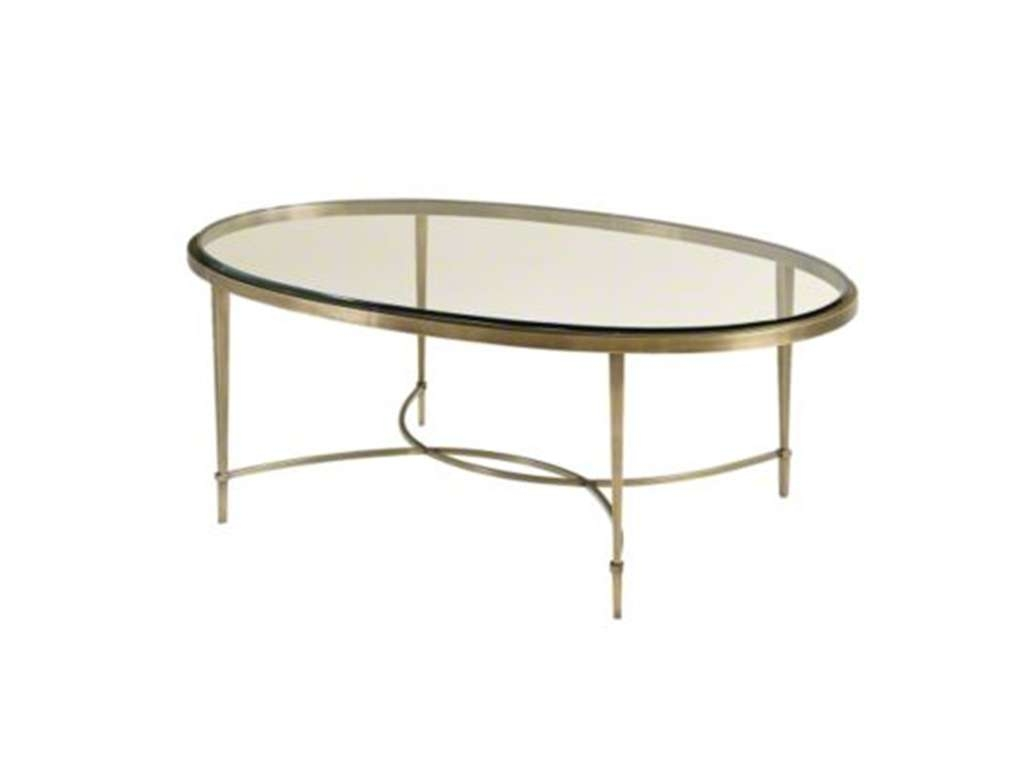 2017 Metal Oval Coffee Tables Inside Coffee Tables Ideas: Stunning Glass Oval Coffee Table Living Room (View 2 of 20)