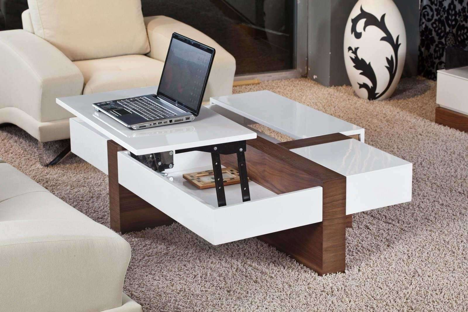 2017 Modern Coffee Tables With Storage For Table View 1 Of 20