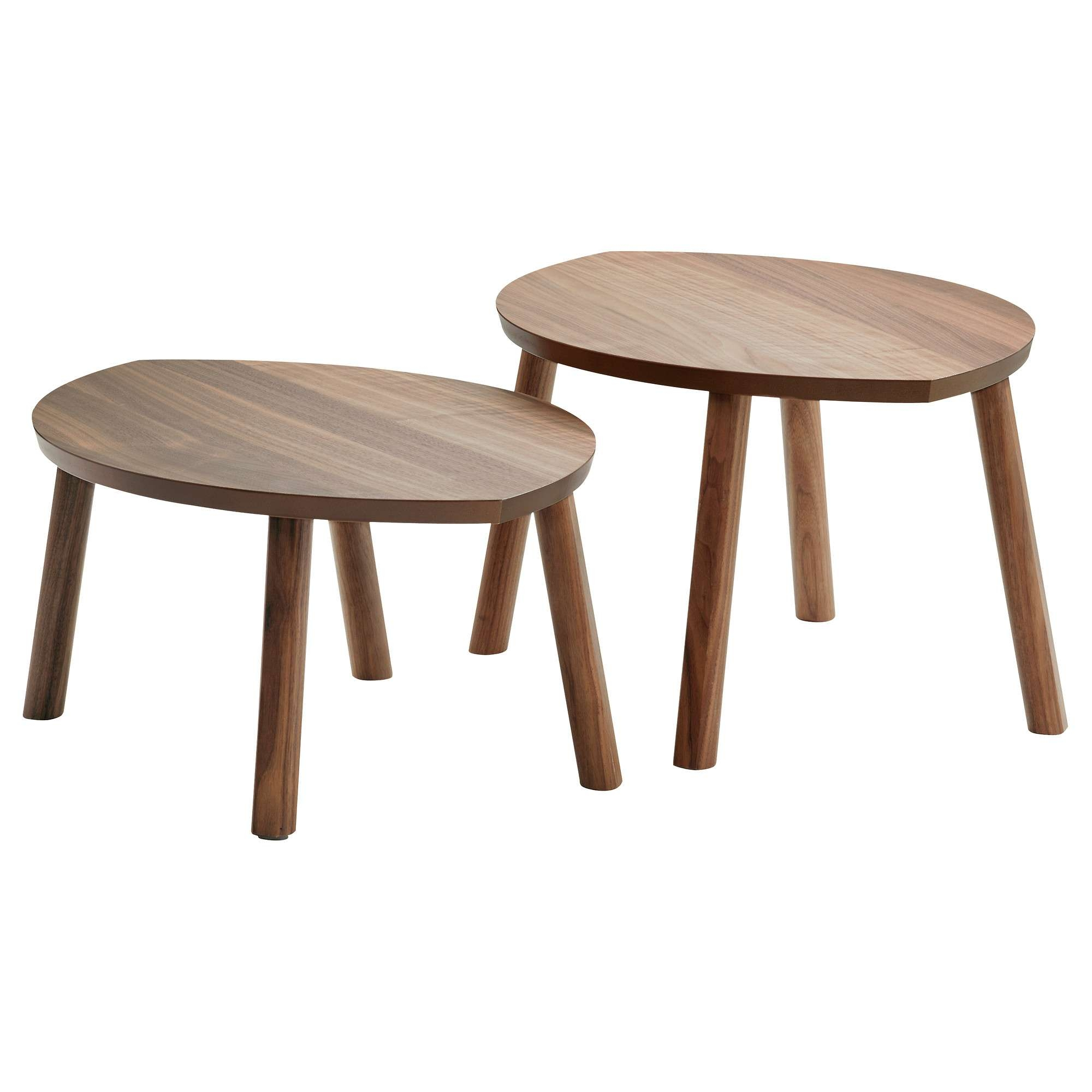 2017 Nest Coffee Tables Within Stockholm Nesting Tables, Set Of 2 – Ikea (View 13 of 20)