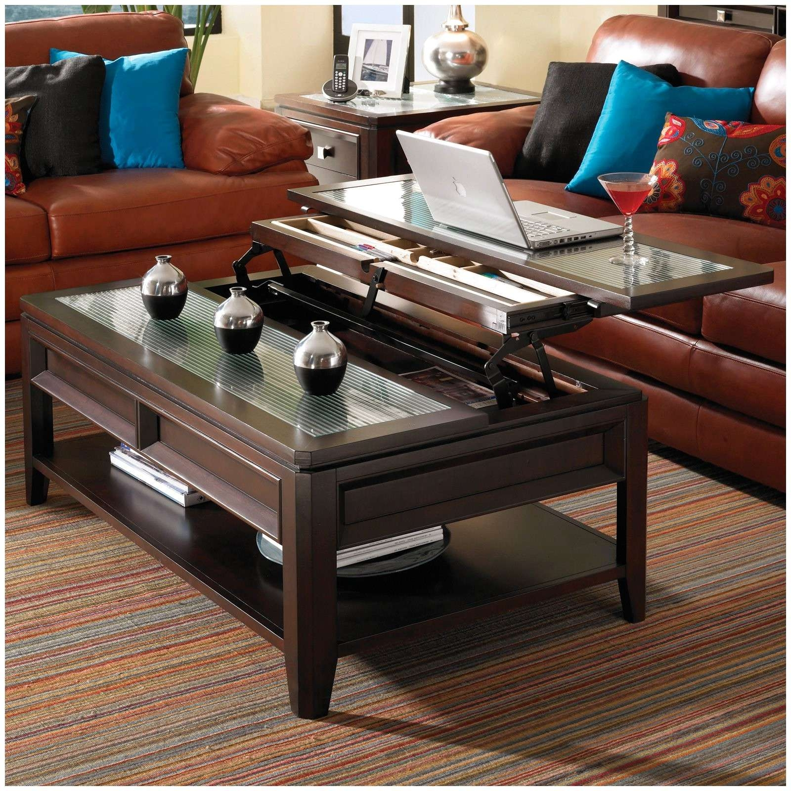 2017 Raise Up Coffee Tables Intended For Coffee Tables That Raise Up 19703 Coffee Table Astounding Coffee (View 10 of 20)